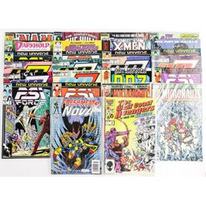 Online Auction - Comics