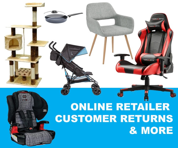 Online Auction - Liquidation Auction Sale - Online Retailer Customer Returns