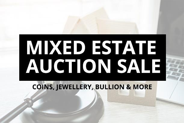 Mixed Estate Auction Sale - Coin Auctions - Online Auction