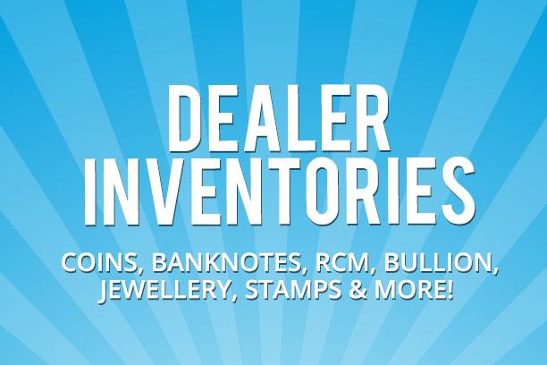 Online Auction - Coin Auctions - Dealer Inventories