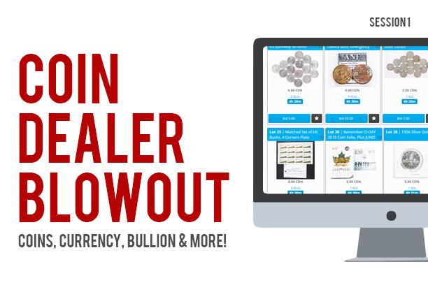 Coin Auction - Online Auction