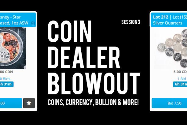 Coin Auction - Online Auction - Auction Network Toronto