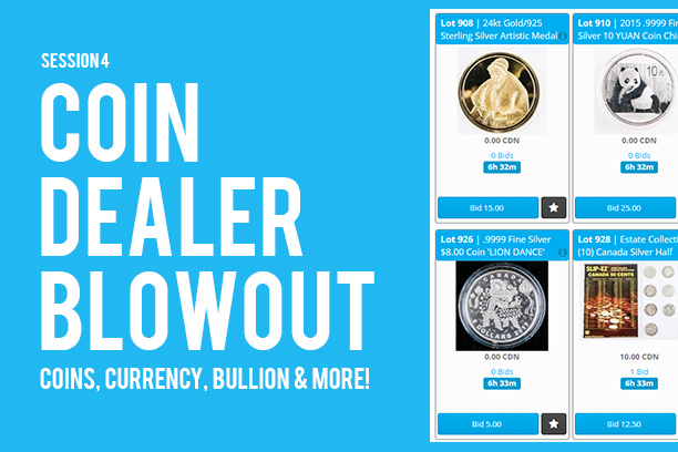 Coin Auction - Online Auction - Auction Network Ontario