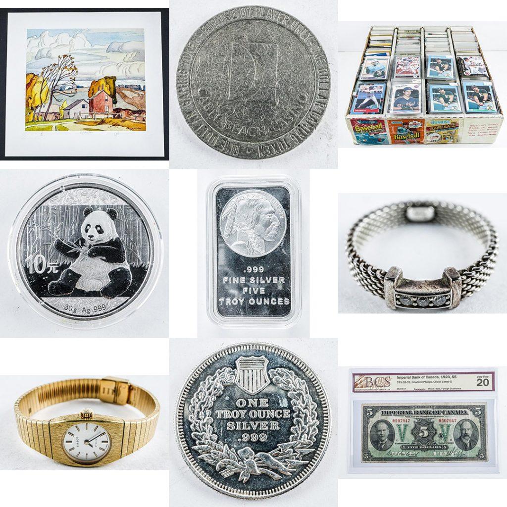 Coin Auction Ontario