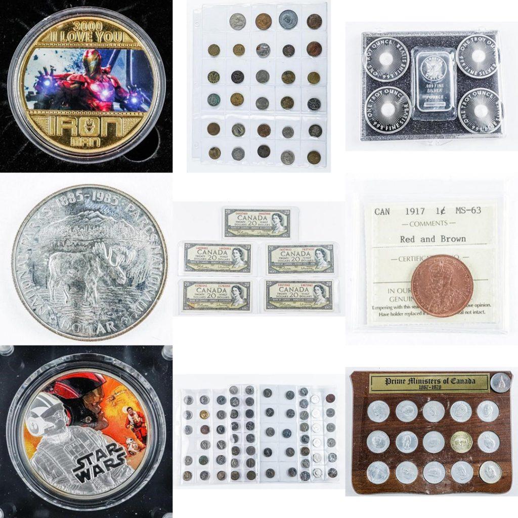 Multiple Estates Auction, Coins, Collector Coins, Online Auction