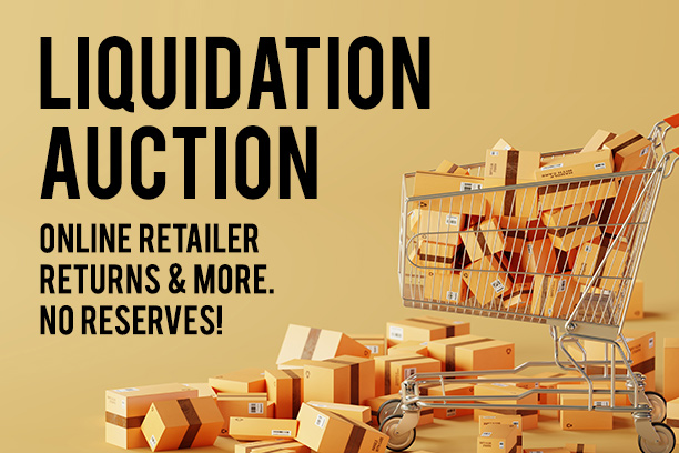Liquidation Auction Online Toronto
