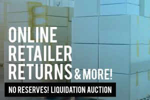 Liquidation Auction Ontario