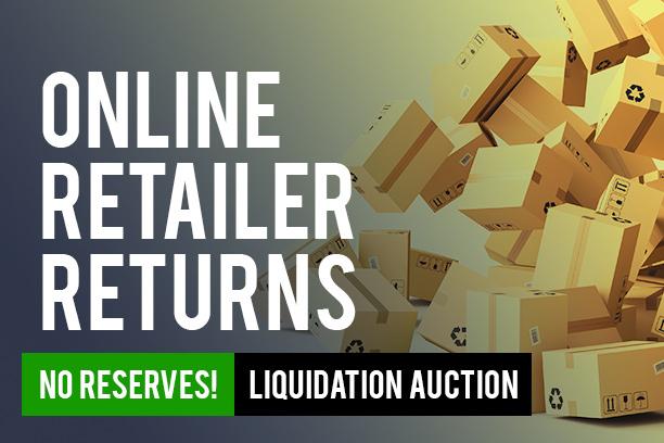 Liquidation Auction Prime Online Retailer Returns